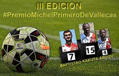 Cartel Premio Michel Primero deVallecas JR14
