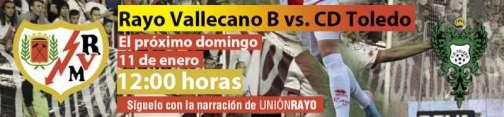 Rayo Vallecano B - CD Toledo