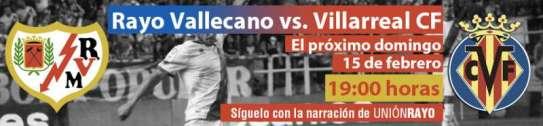 Rayo - Villarreal