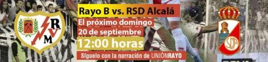 Rayo B - RSD Alcala