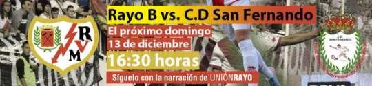 Rayo B - CD San Fernando
