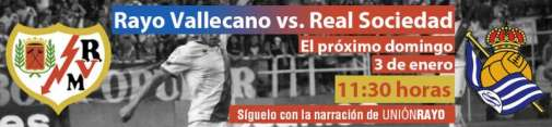 Rayo - Real Sociedad