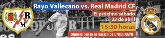 Rayo - Real Madrid