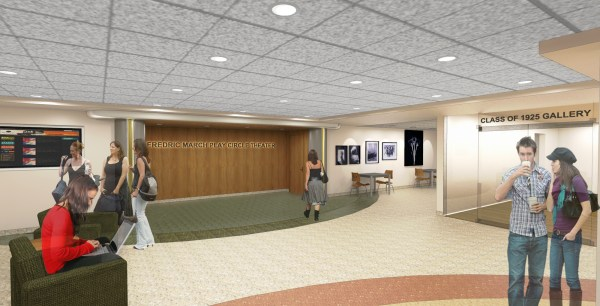 Lobby Entrance Flooring Design