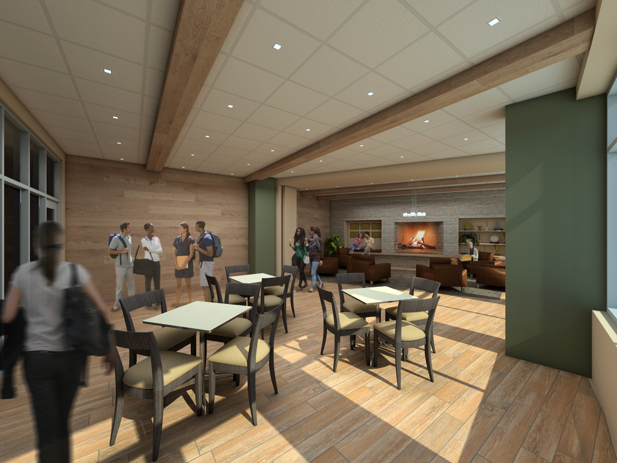 Interior Design Concept Approved By Design Committee Memorial Union