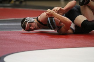 Matt Murray pinning at Sandy Tournament