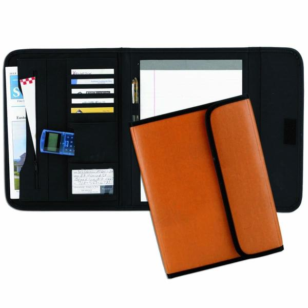 Faux Leather Custom Tri-fold Pad Portfolio Folders Usa