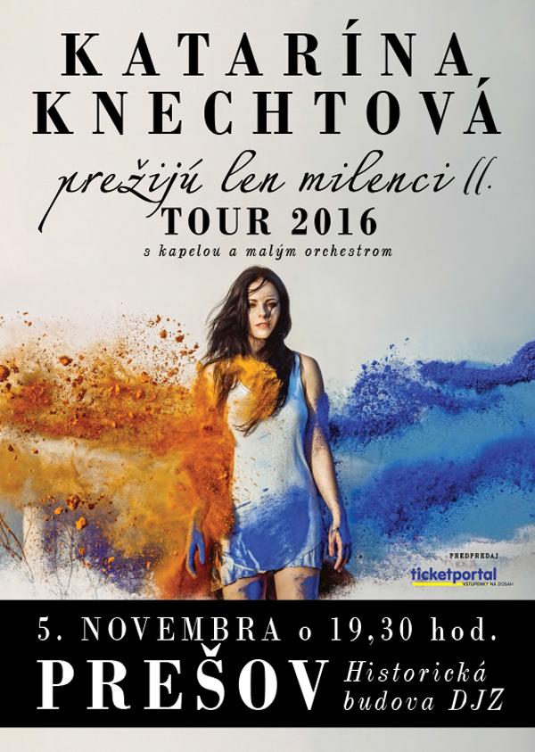 Koncertné turné neobíde ani Prešov (Foto: FB udalosti)