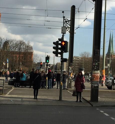 Berlínske semafory (Foto: Henrieta Hlinková)