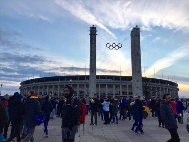 Olympijský štadión v Berlíne (Foto: Henrieta Hlinková)