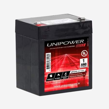 Bateria Estacionária 12V 4,5Ah VRLA UP1245