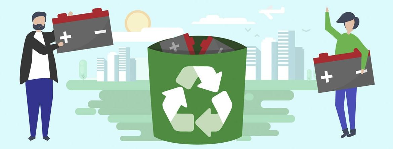 Descarte de Baterias: Como e onde fazer a Reciclagem