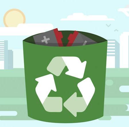 Descarte de Baterias Reciclagem