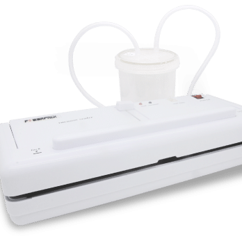 Vacuum Sealer Mini Portable basah