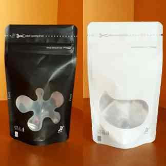 Plastik Standing Pouch Window
