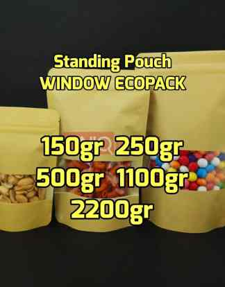 Standing pouch window ecopack