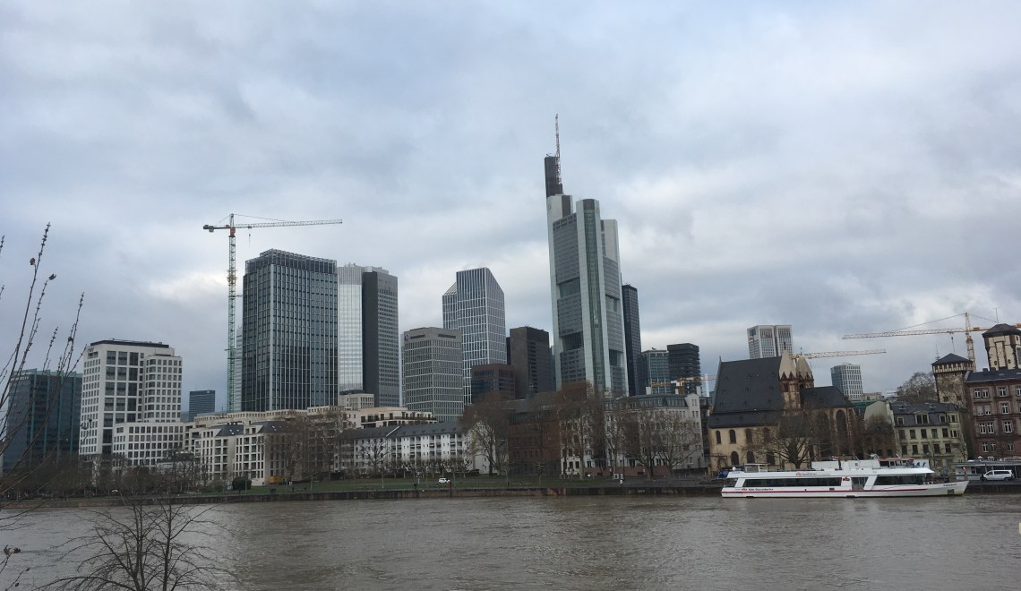 Frankfurt am Main – financial city with a breathtaking skyline