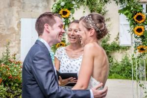 wedding celebrant in CHAMBORD