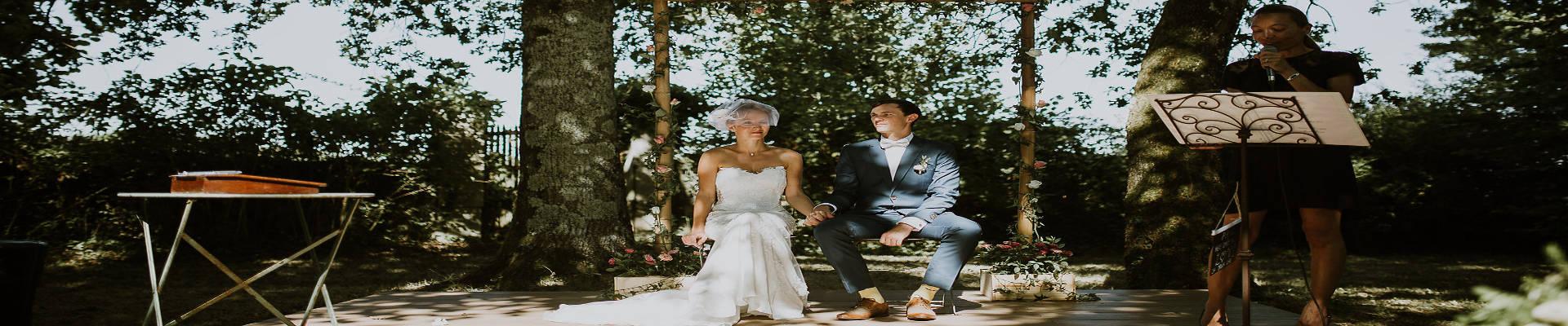 wedding ceremony in france - wedding celebrants in france