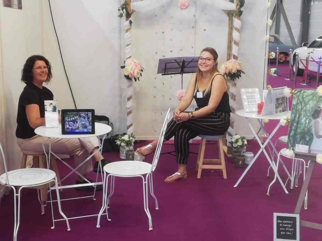 Estelle & Rachel Salon Mariage Poitiers 2018