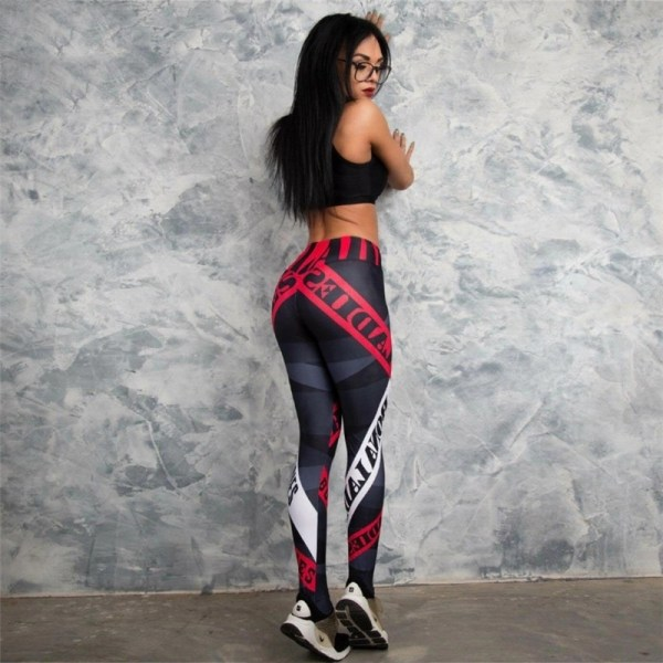 Red Alert Leggings