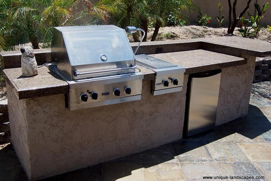 viking outdoor kitchen gadget gifts kitchens bbq photo gallery grill granite slab countertop fridge bar the picture says it all