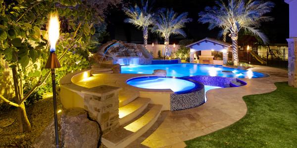backyard oasis in gilbert project