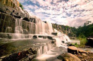 Pongour (Elephant) waterfall near Dalat, Vietnam