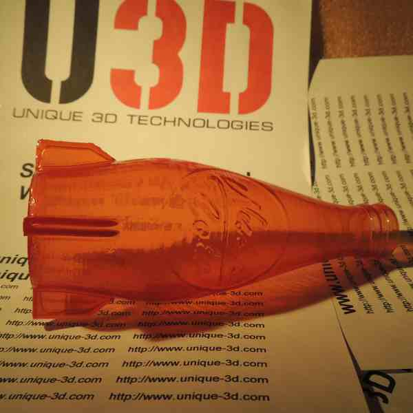 "Orange  SBS ""Watson"" plastic for 3D printer. 1,75 mm. 0,5 kg."