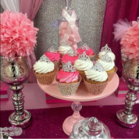 Tons of Amazing Princess Baby Shower Decorations & Ideas