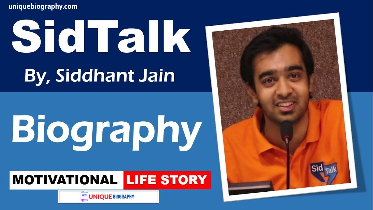 Sidtalk(Siddhant jain) Biography, Age, Date of birth, height, family, profession, girlfriend, income, net worth.
