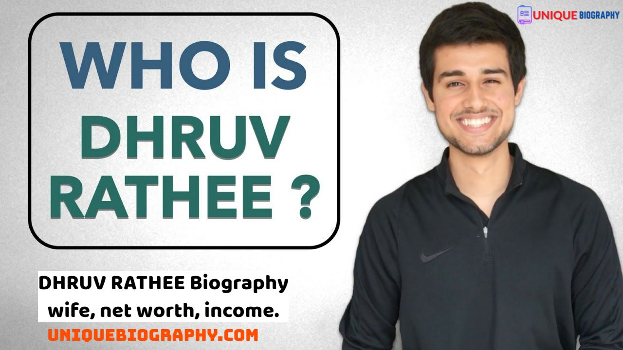 Biography of DHRUV RATHEE | DHRUV RATHEE Biography, wife, net worth, income.