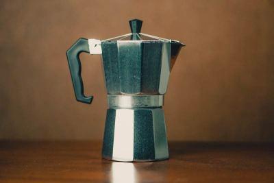 Cafeteira Italiana é um ótimo equipamento para extrair cafés de qualidade