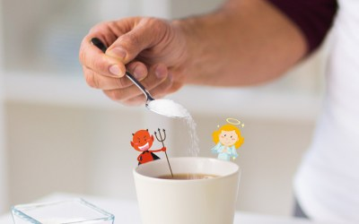 Café com açúcar é pecado?