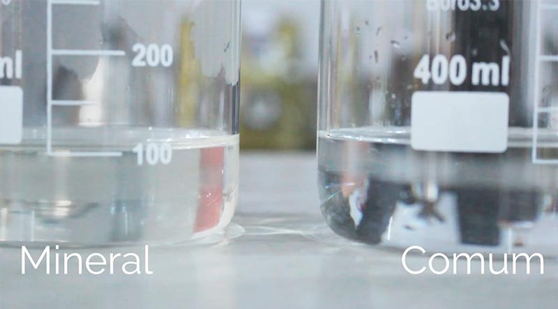 Água mineral e água comum no preparo de cafés