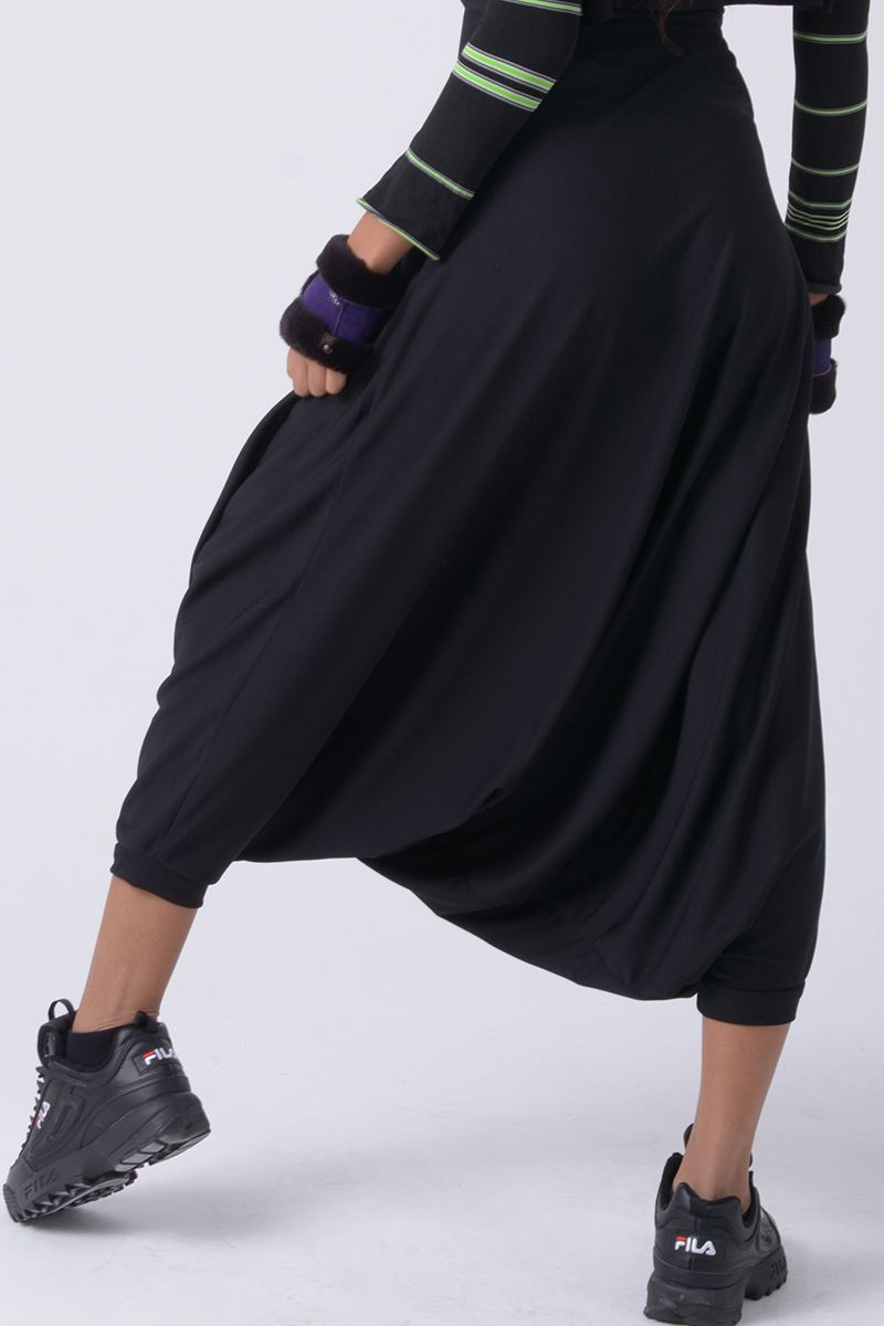 Pantalón muy ancho - Afra negro