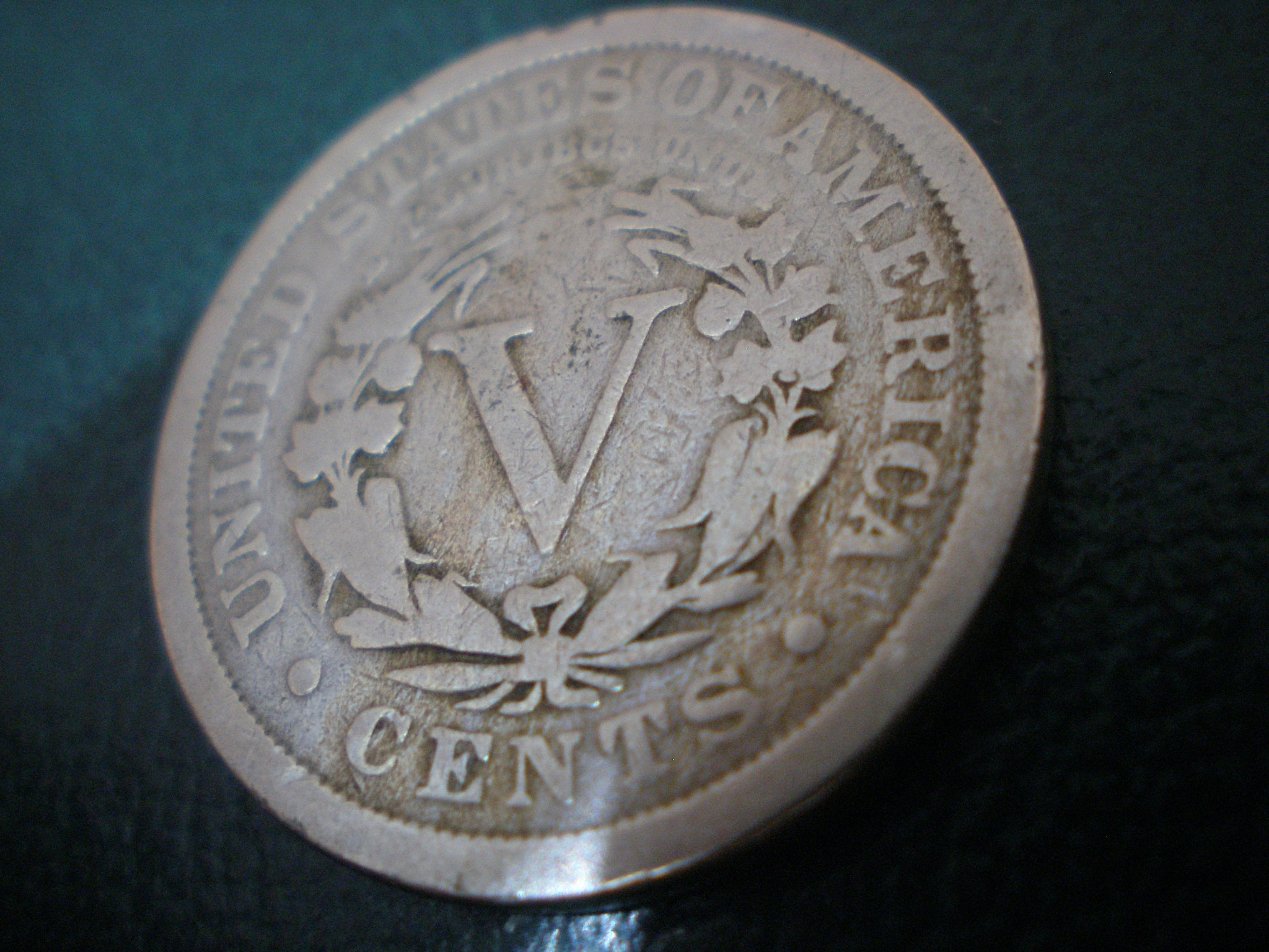 Contraversial Usa Nickels V Cent Coins
