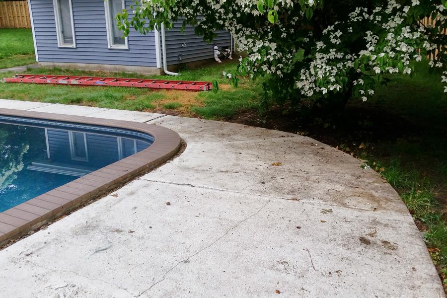 outdoor tile over concrete unique