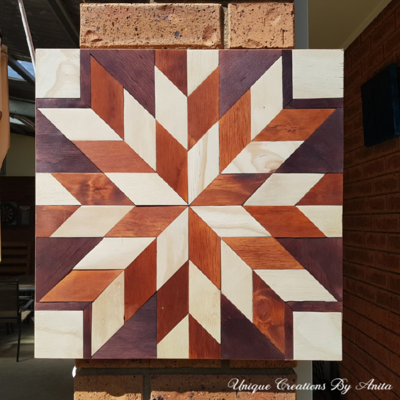 How to make a wooden barn quilt