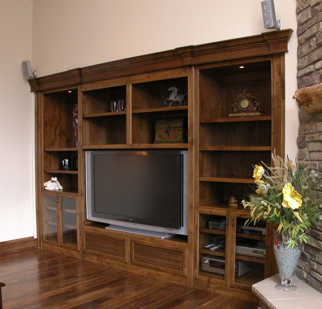 Home Theater Unique Design Cabinet Co
