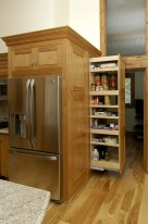 Pantry Pull Out Behind Refridgerator
