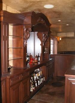 Wine Cellars Amp Bars Unique Design Cabinet Co