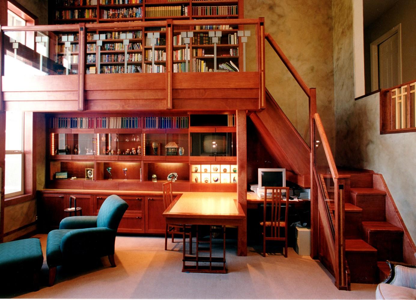 Home Offices  Libraries  Unique Design Cabinet Co