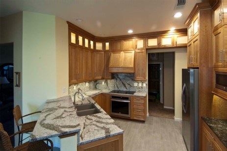 Natural Cherry Cabinetry