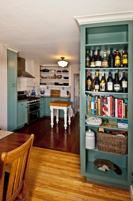Bookshelf End cabinet