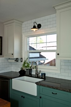 Farm Sink with Granite Tops