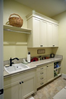 Painted Utility Room