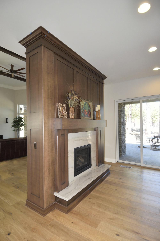 St James Village Custom Home   Unique Design Cabinet Co