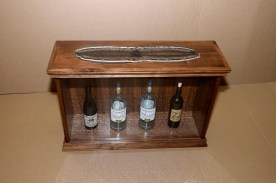 Adult Beverage Display Inlayed Top