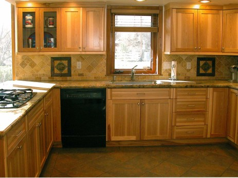 Natural Hickory Kitchen